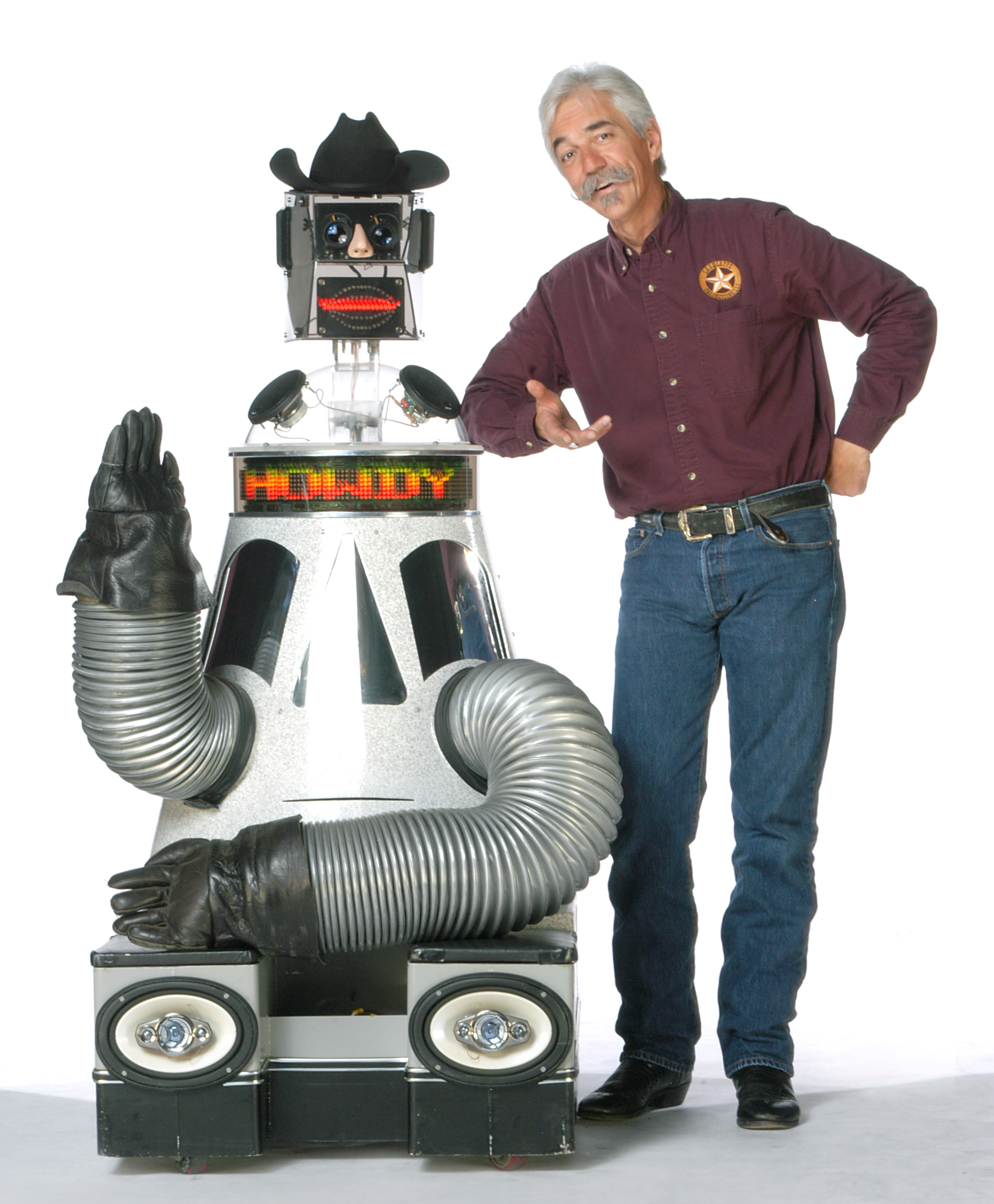Rusty Gears the Robot Entertainer