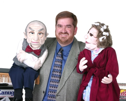 Steve Brogan, Ventriloquist