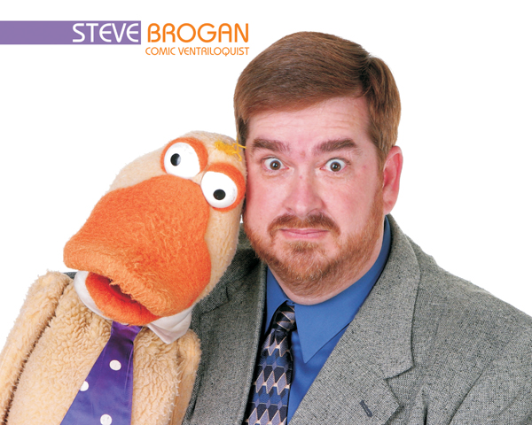 Steve Brogan, Comic Ventriloquist