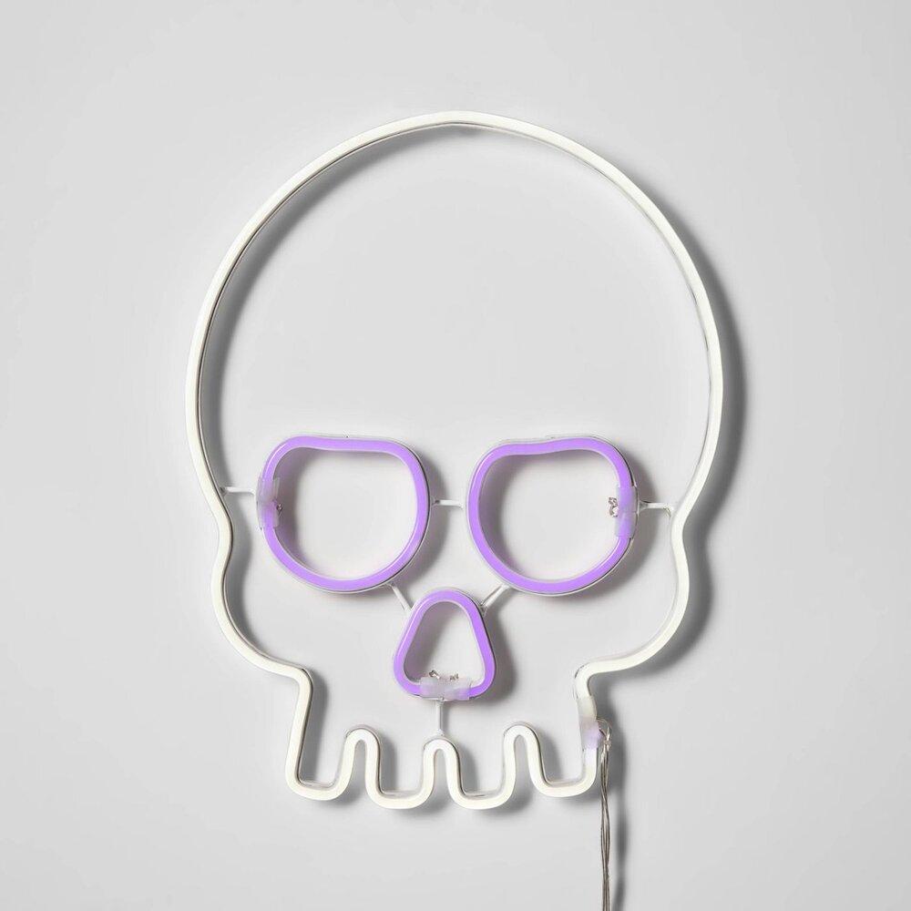 Target Neon Skull