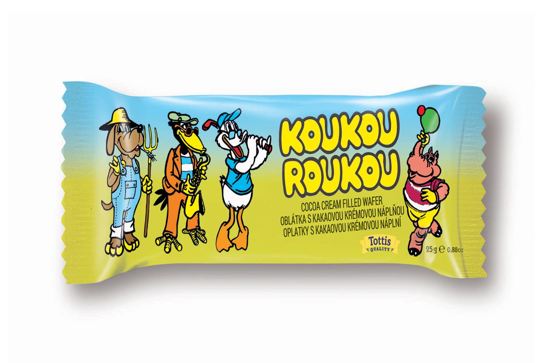 Koukourou retro wafers 25g