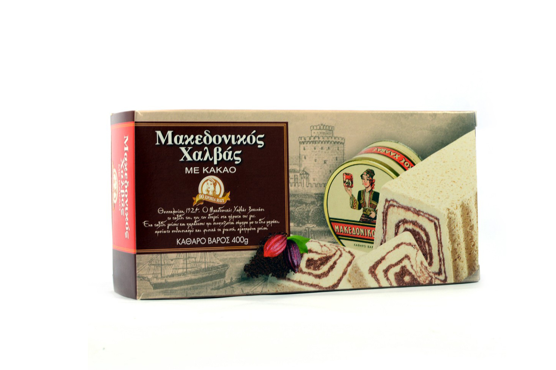 Macedonian halva cocoa 400g