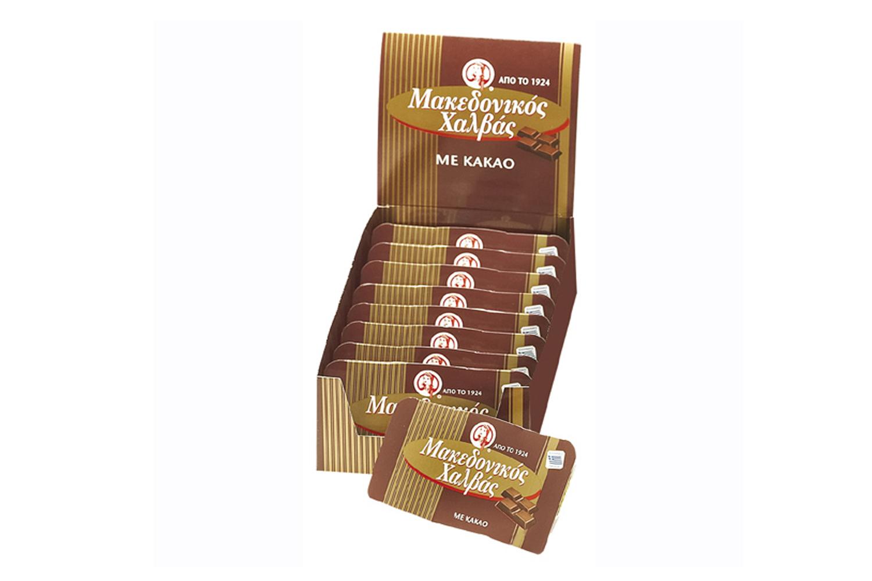 Macedonian cocoa halva snack 100g