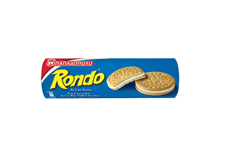 Rondo vanilla biscuits 250g