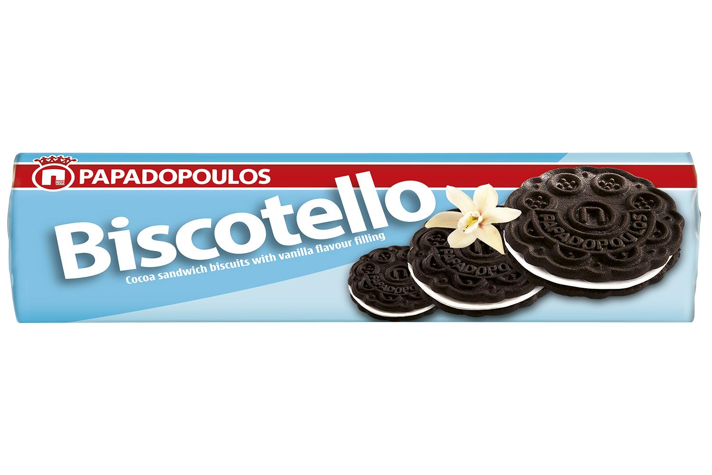 Biscotello vanilla sandwich biscuits 200g