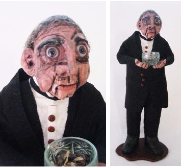 """Dr Asa Fitch""Ceramic, Mixed Media, 2015"