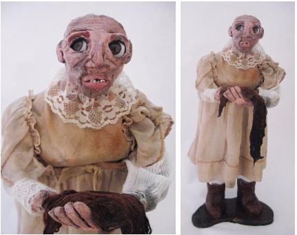 """Jane McCrea""Ceramic, Mixed Media, 2015"