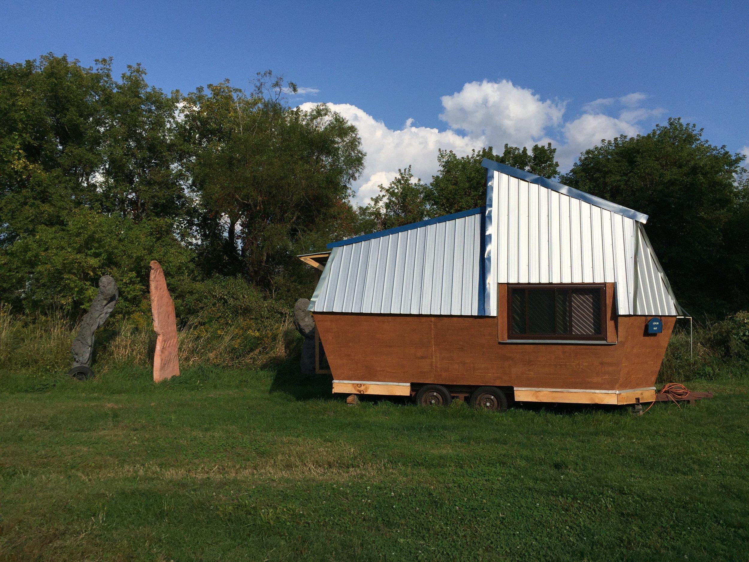 Lemon Hut arthouse by Chelsea Thew and Derek Weston