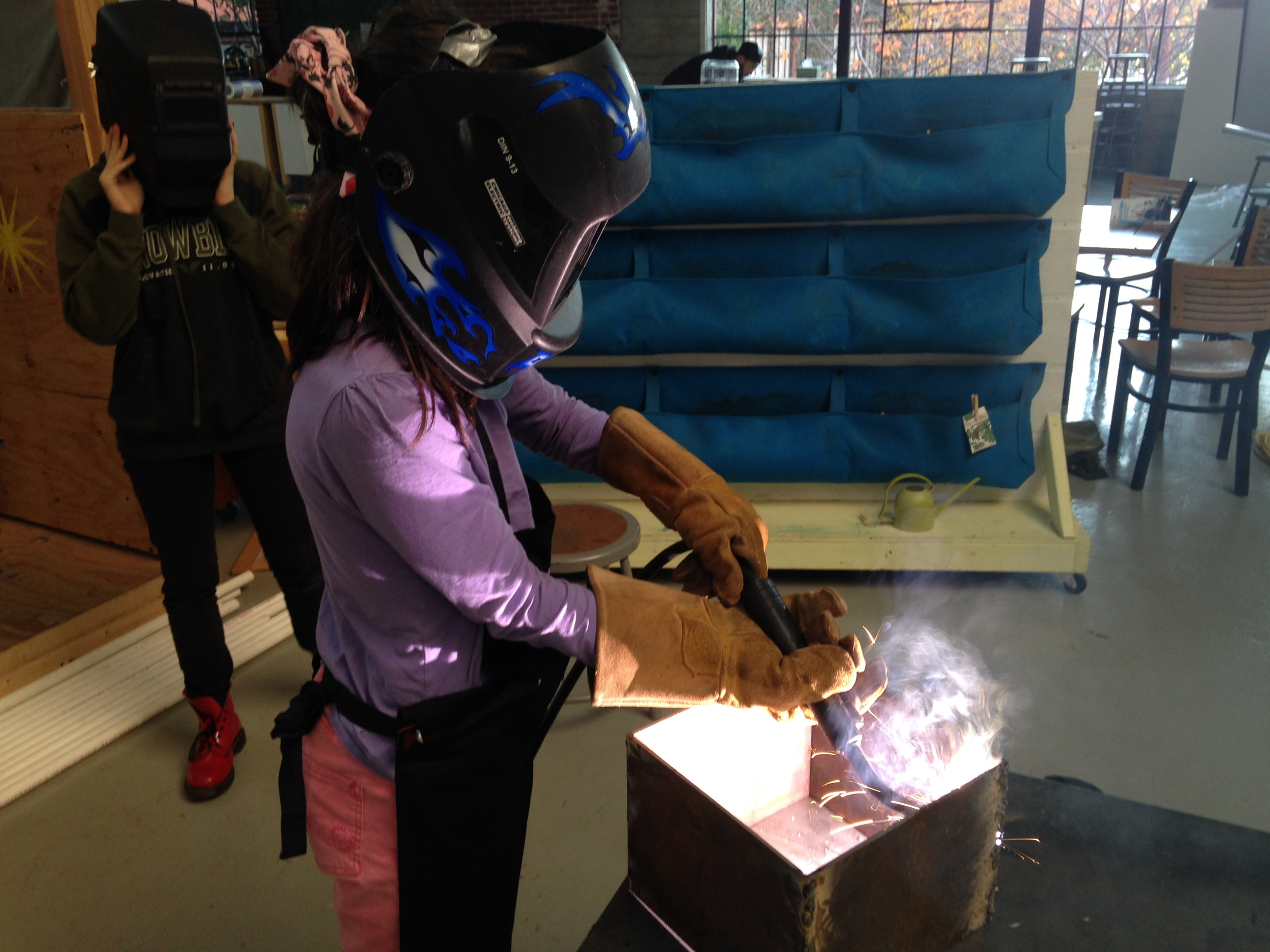 Little Girl Welds
