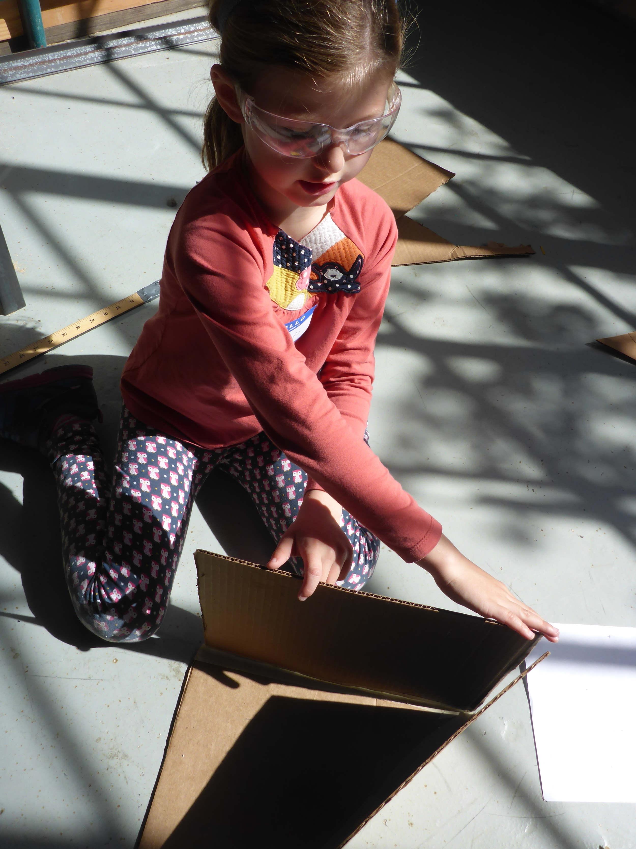 Maelys builds iteration 2 of our magic grow room prototype.