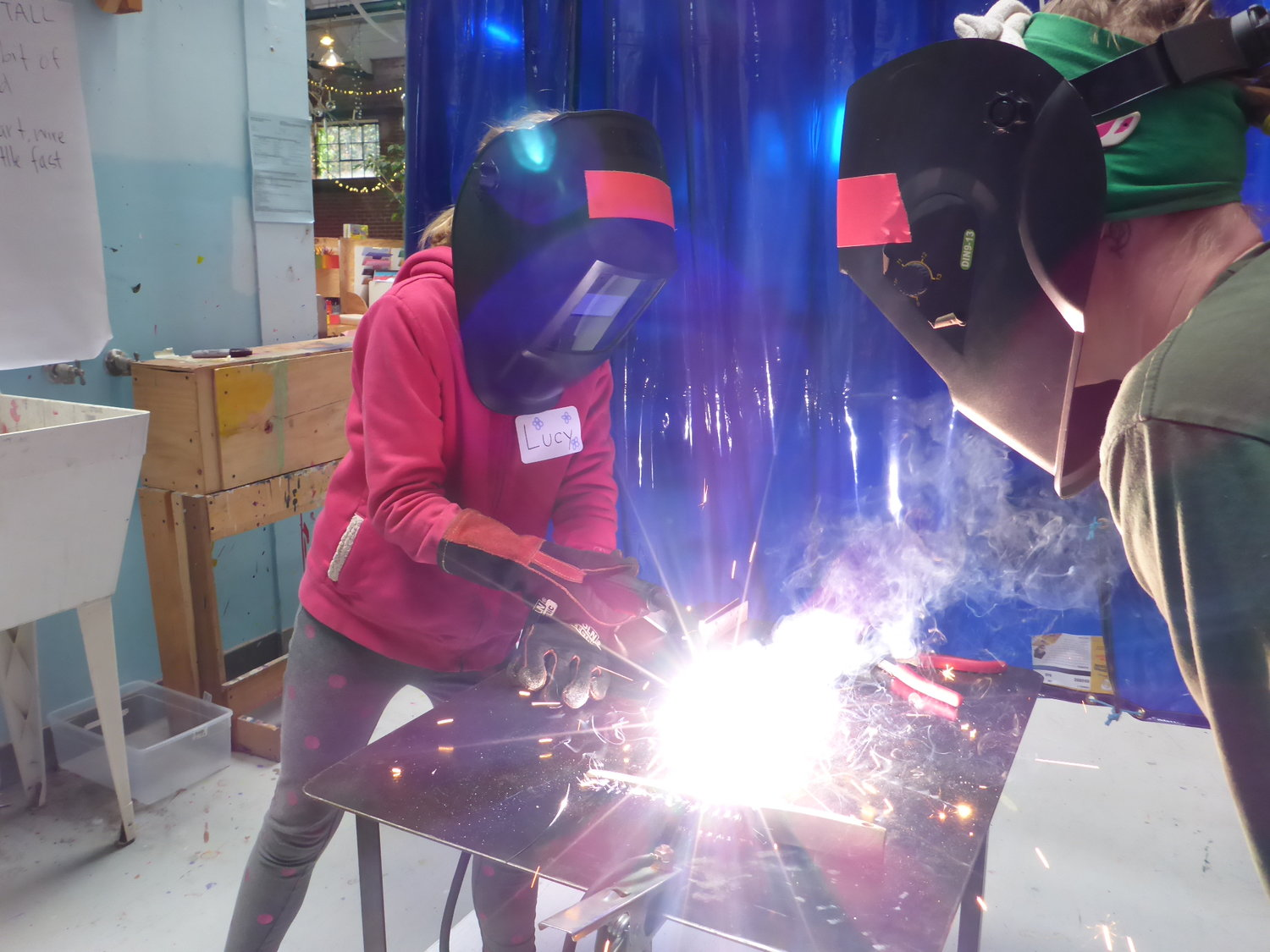 welding — one day workshop blog — tinkering school