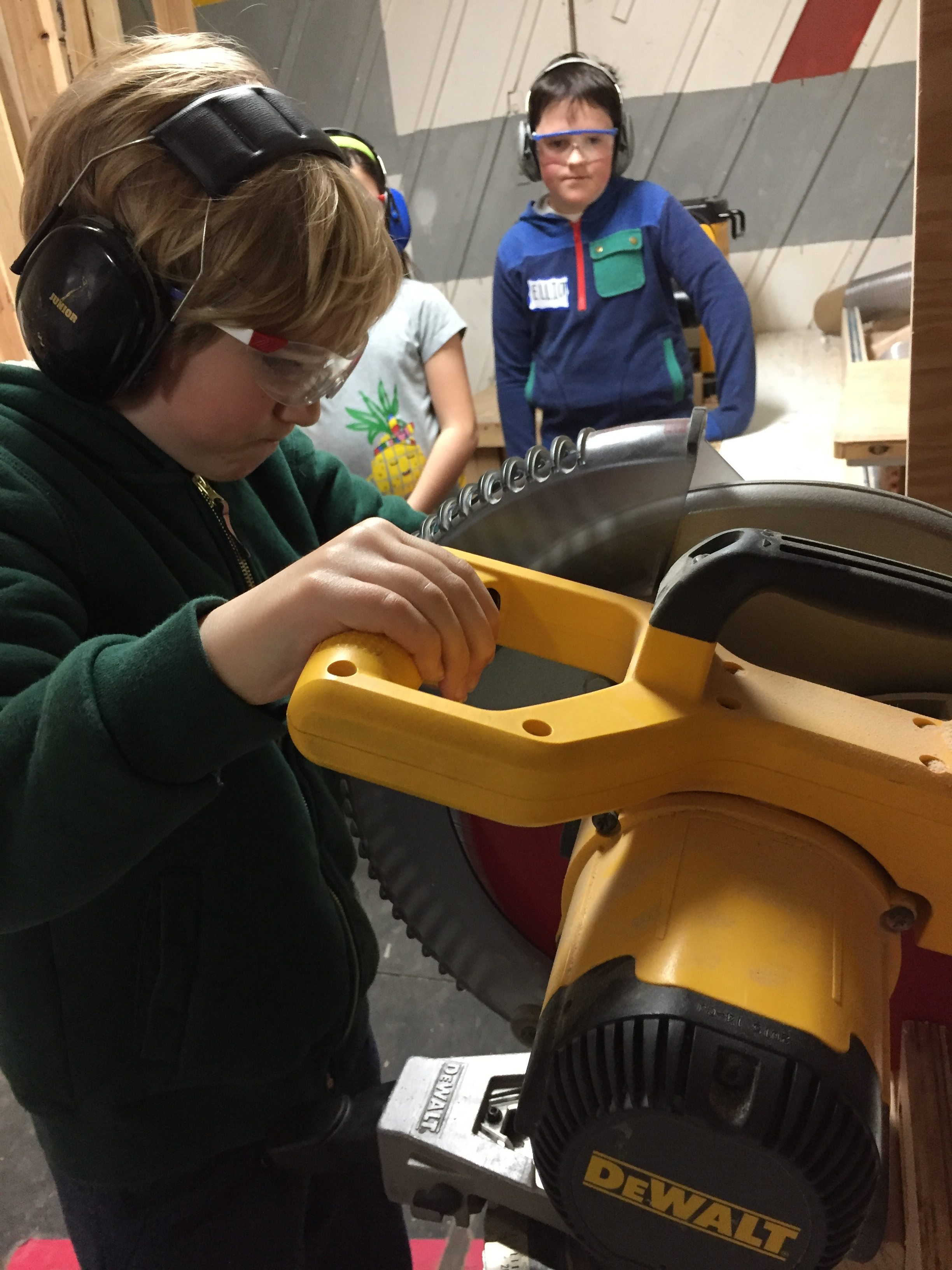 Chopsaw Training: Asher