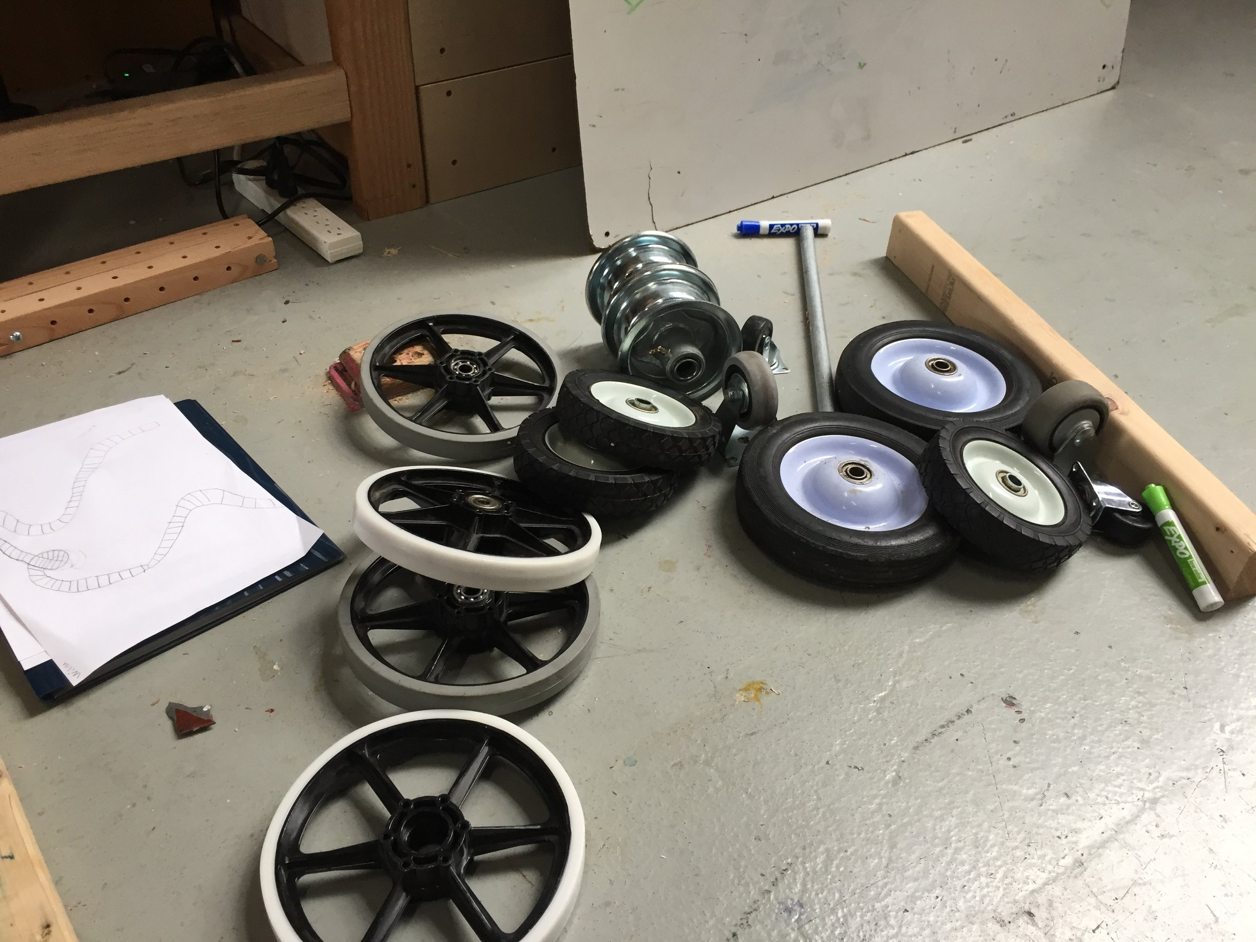 The wheel challenge!