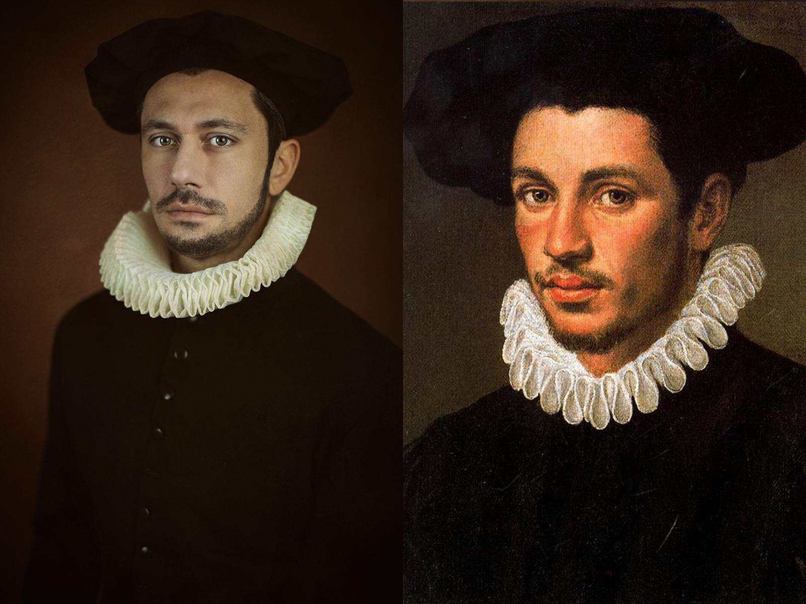 """Annibale Carracci, """"ritratto di giovane"""" (1590)"""
