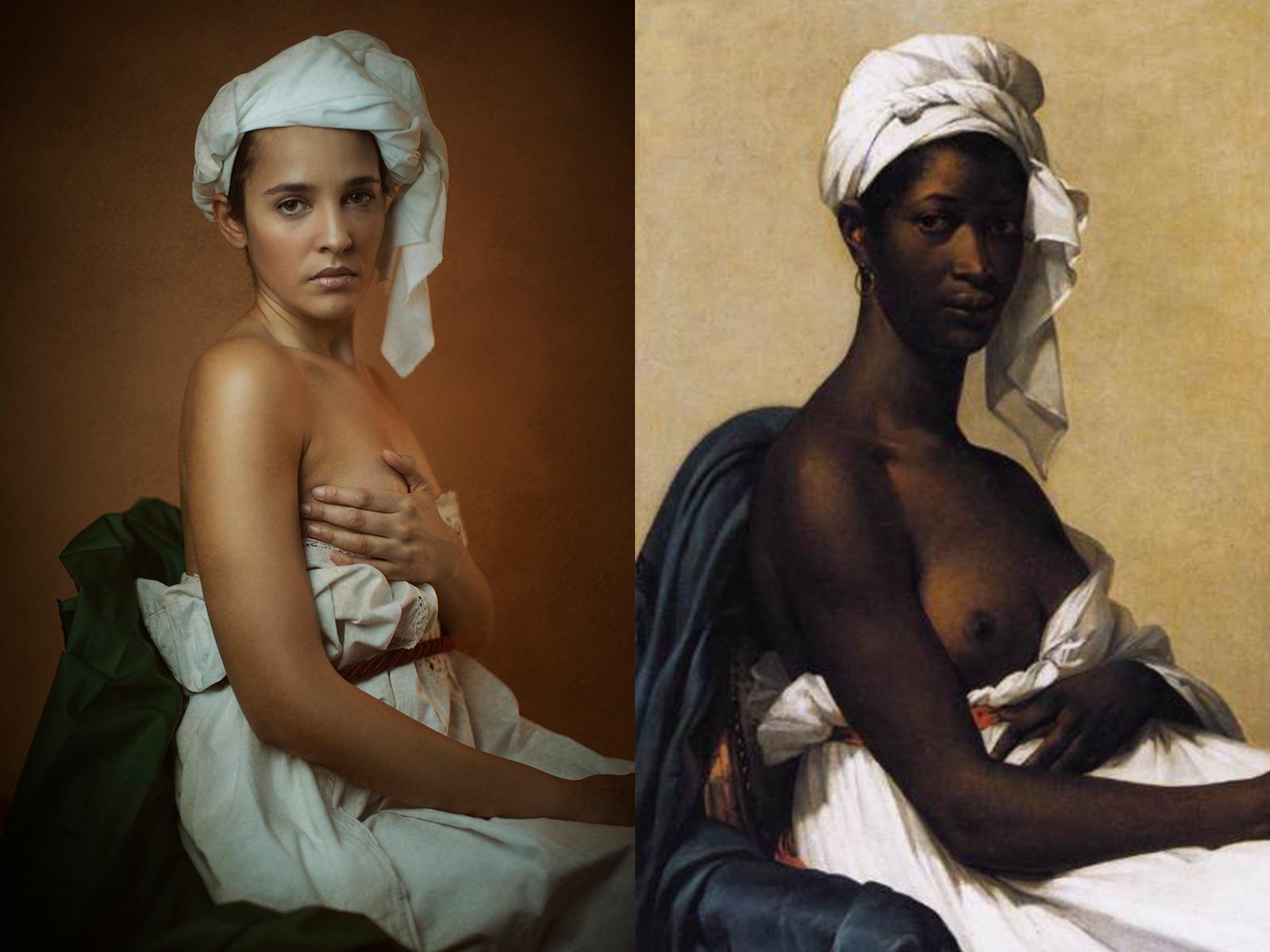 """Marie-Guillemine Benoist, """"ritratto di donna nera"""" (1800)"""