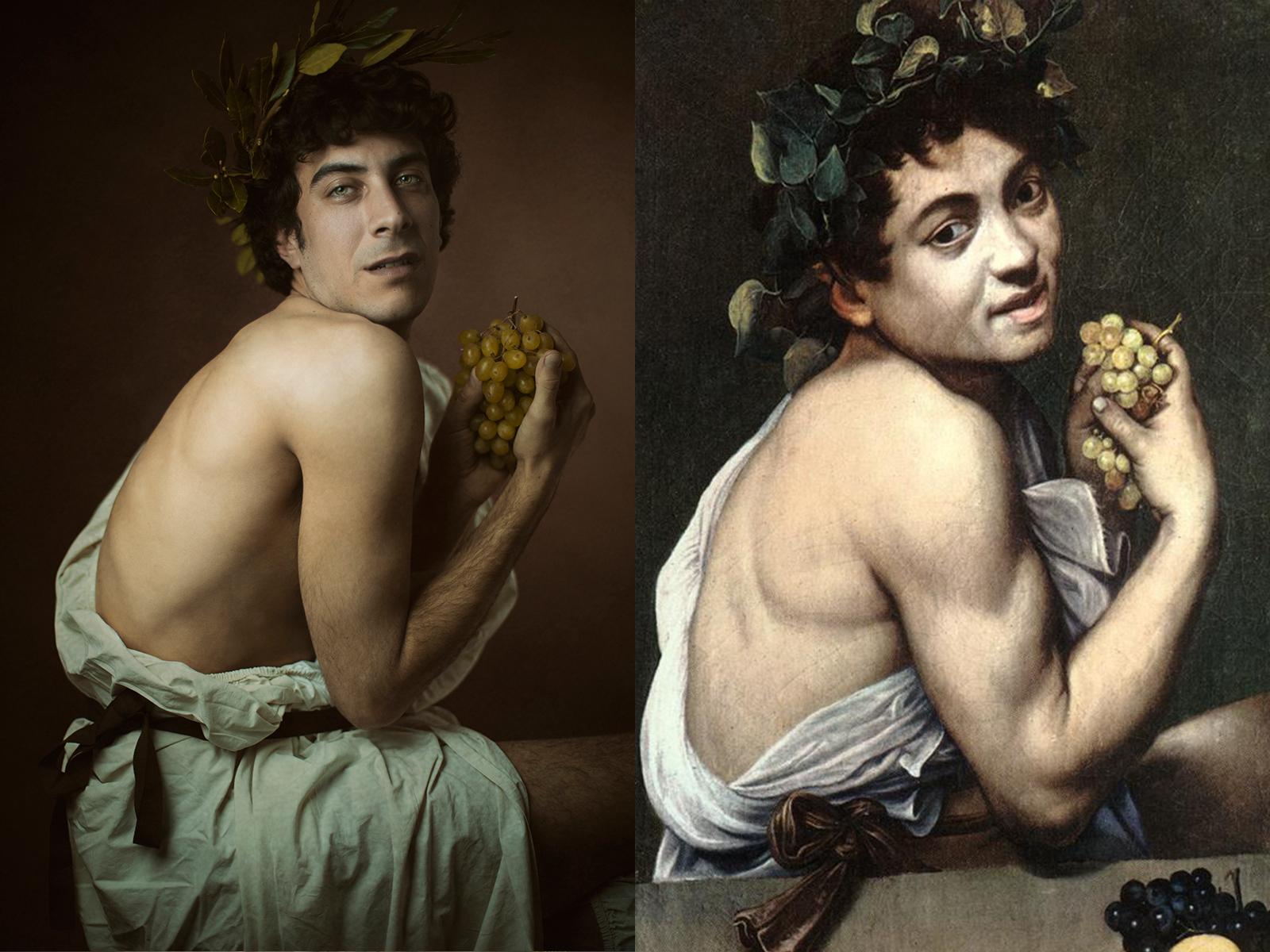 """Caravaggio, """"bacchino malato"""" (1593)"""