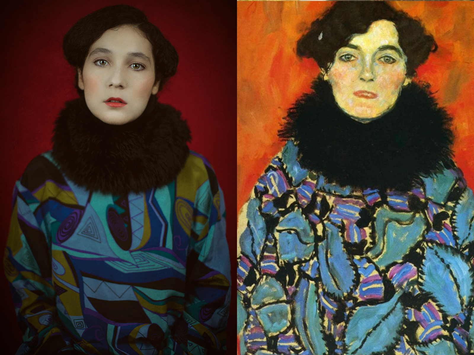 "Gustav Klimt, ""ritratto di Johanna Staude"" (1918)"