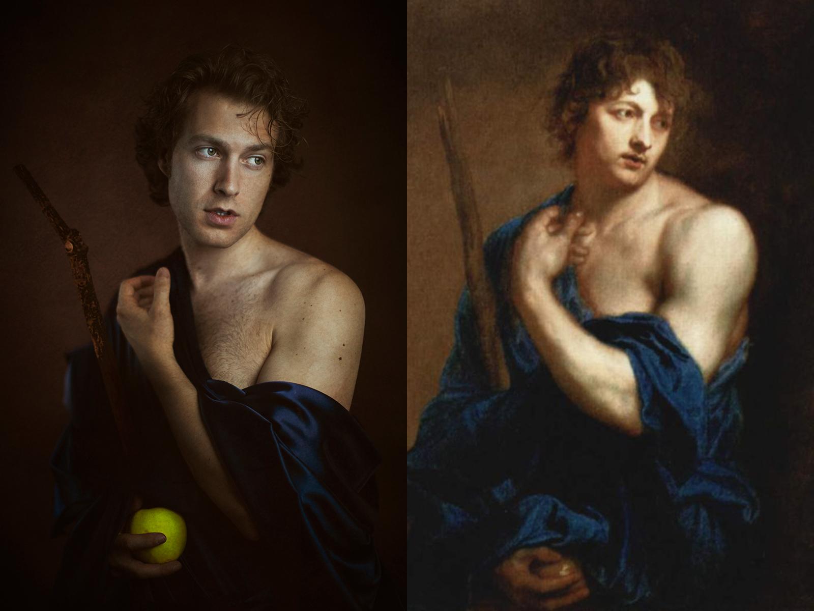 "Antoon van Dyck, ""Paride"" (1628)"
