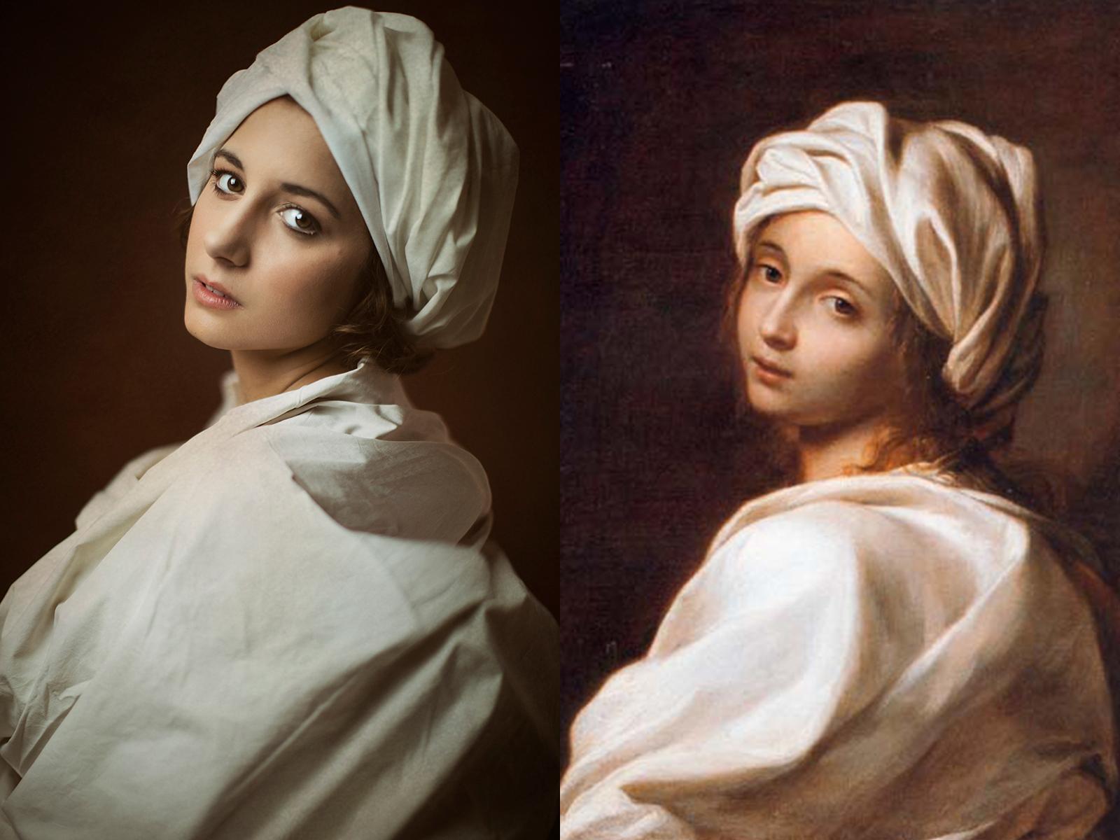 """Guido Reni, """"ritratto di Beatrice Cenci"""" (1599)"""