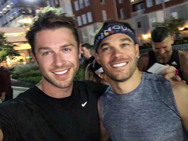 6am run with @nicksymmonds #summitofgreatness