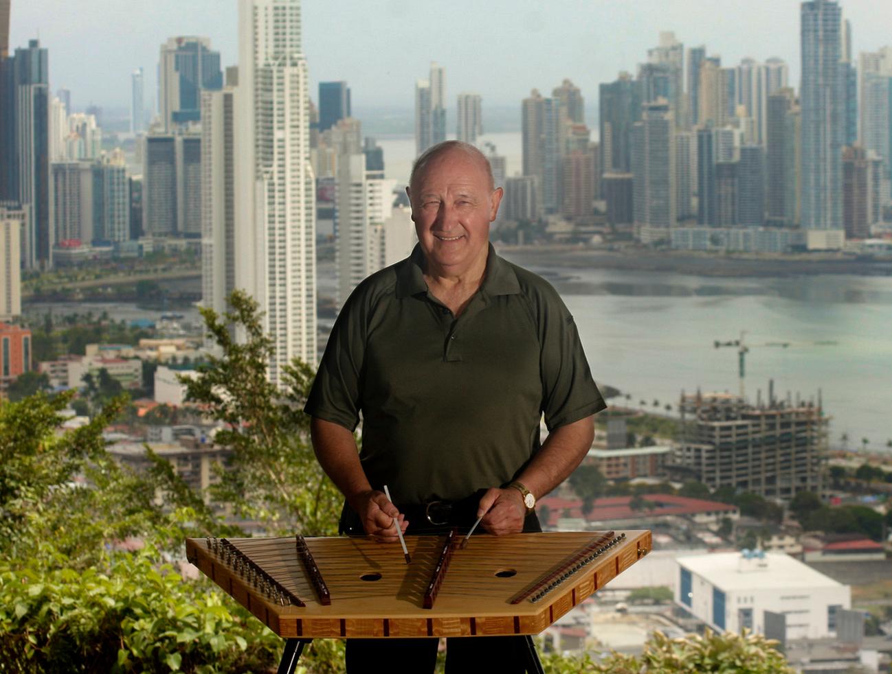 Bill in Panama City, Panama 2013