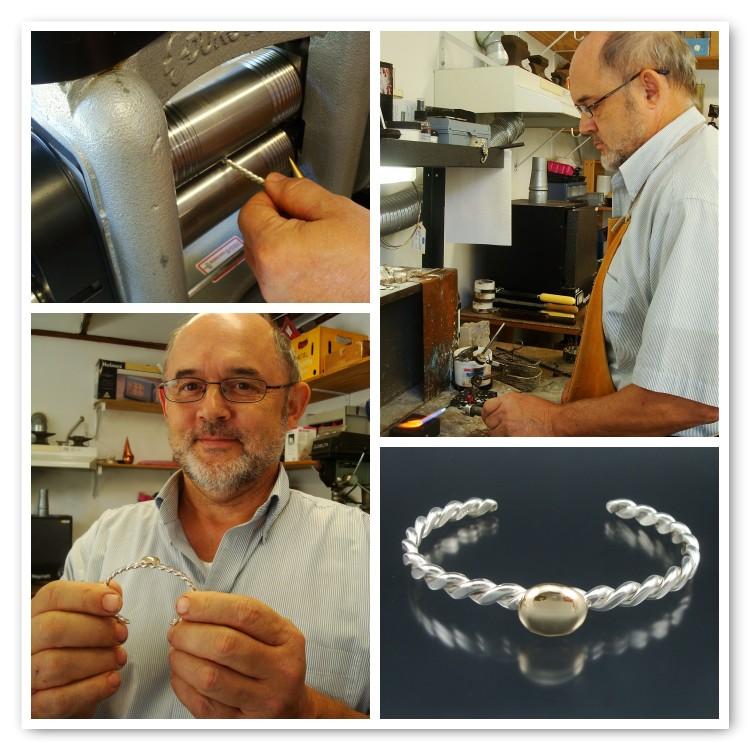 """Mr. Charlie made a """"wedding bracelet"""" for Ms. Jo!"""