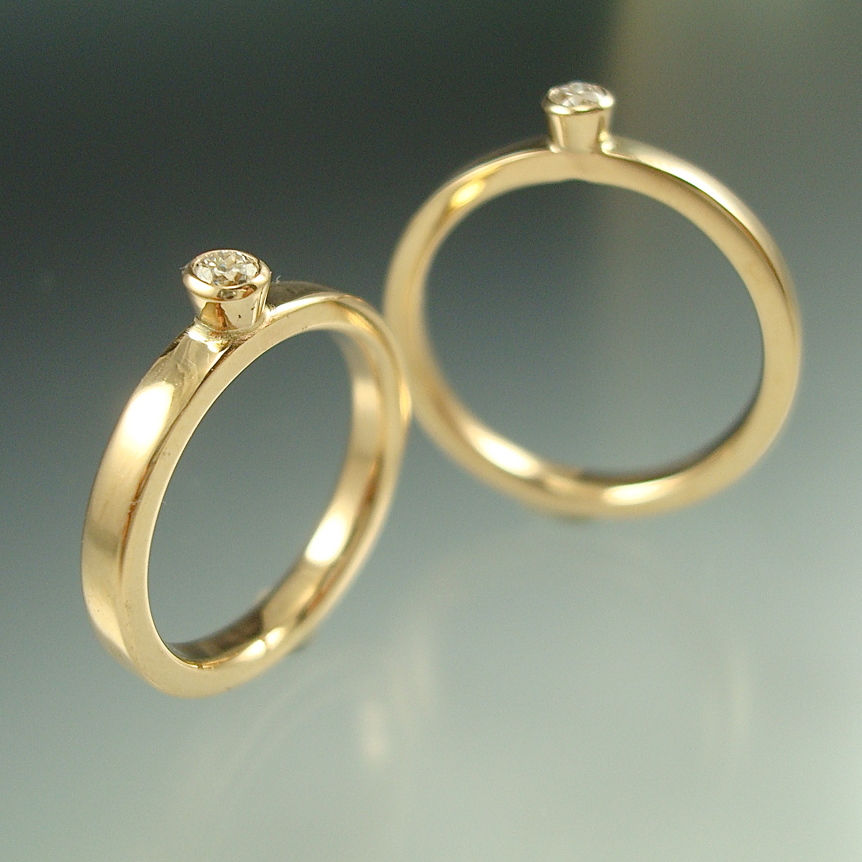 Mother-Daughter Rings