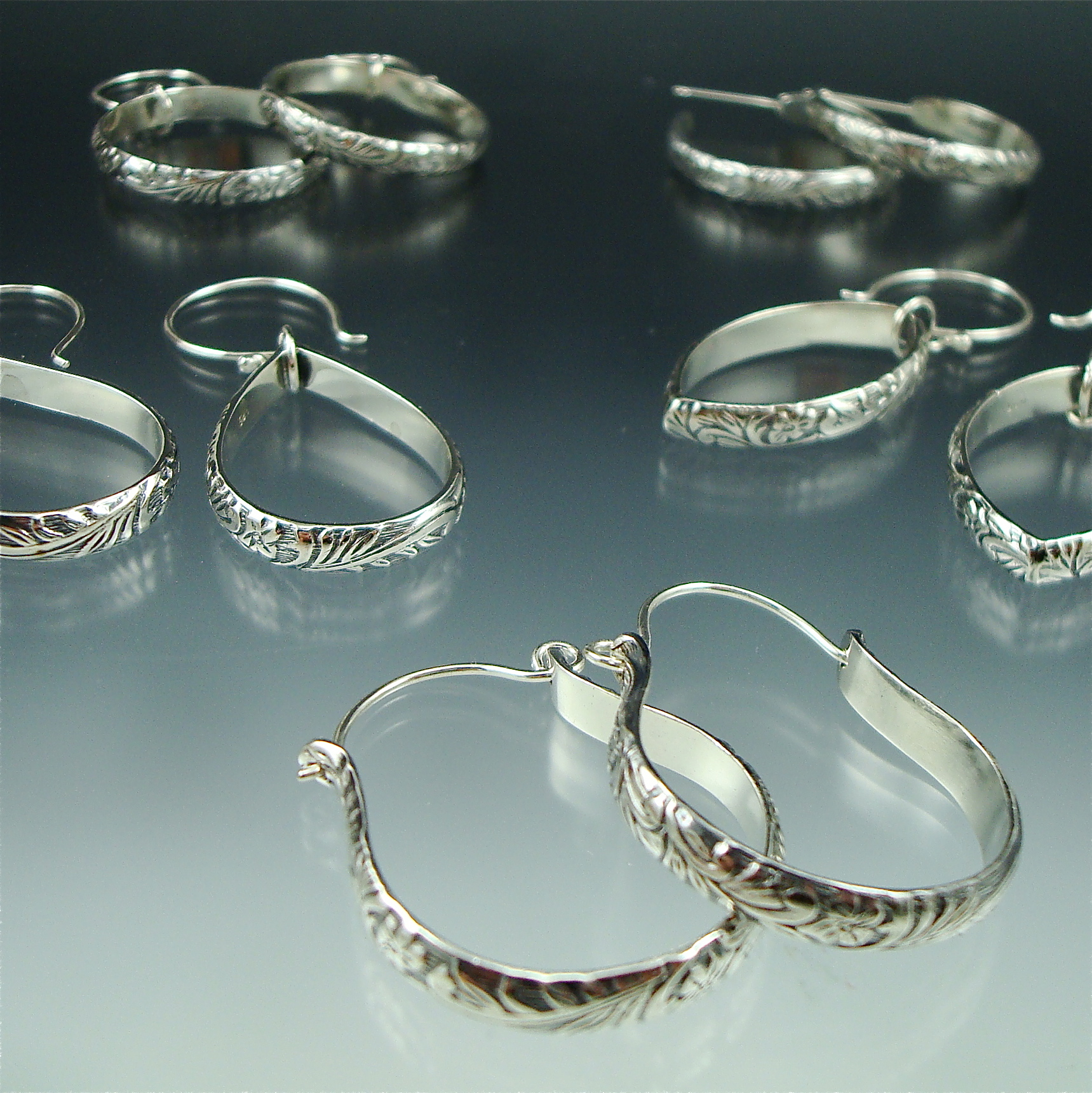 Custom Bridal Party Earrings