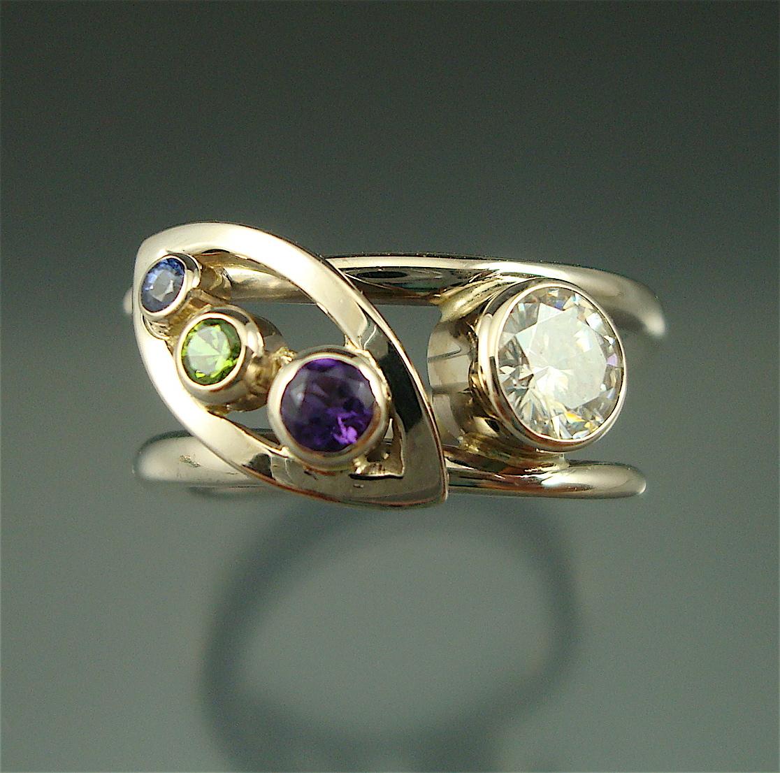 Custom Vine Ring