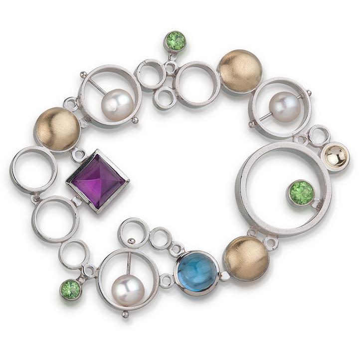 Effervescence Brooch by Danielle Miller Jewelry