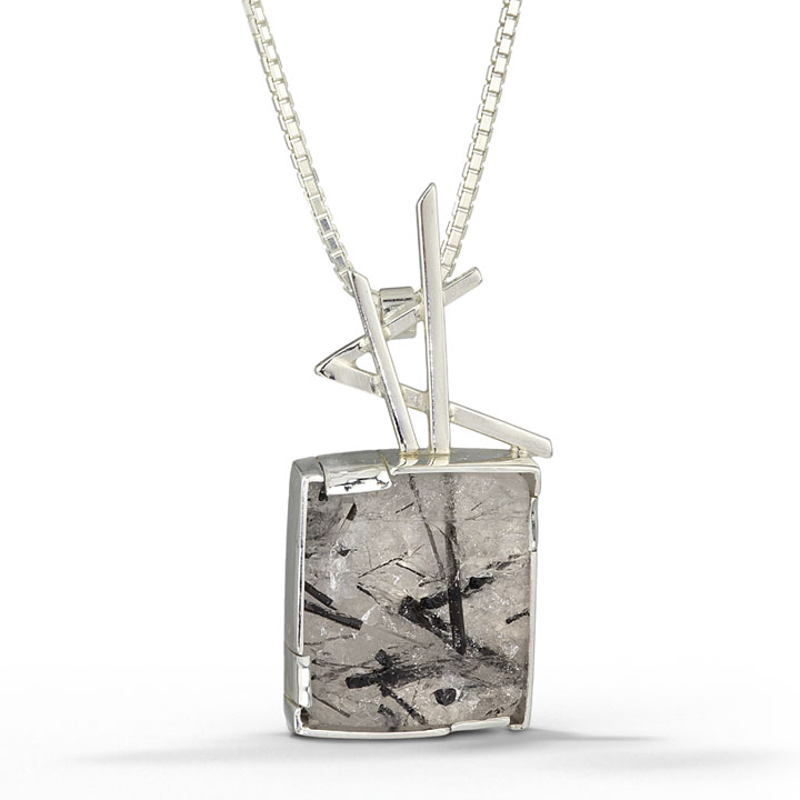 Sticks and stones pendant