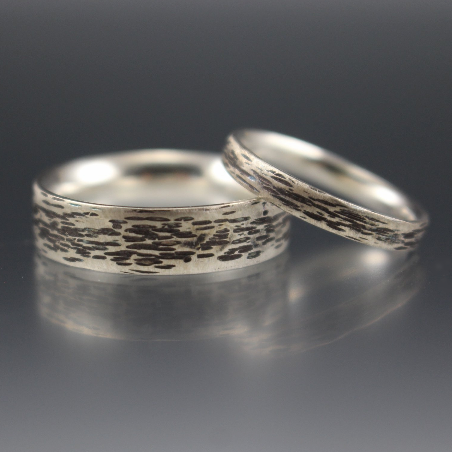 Silver Rings for a Silver Anniversary!
