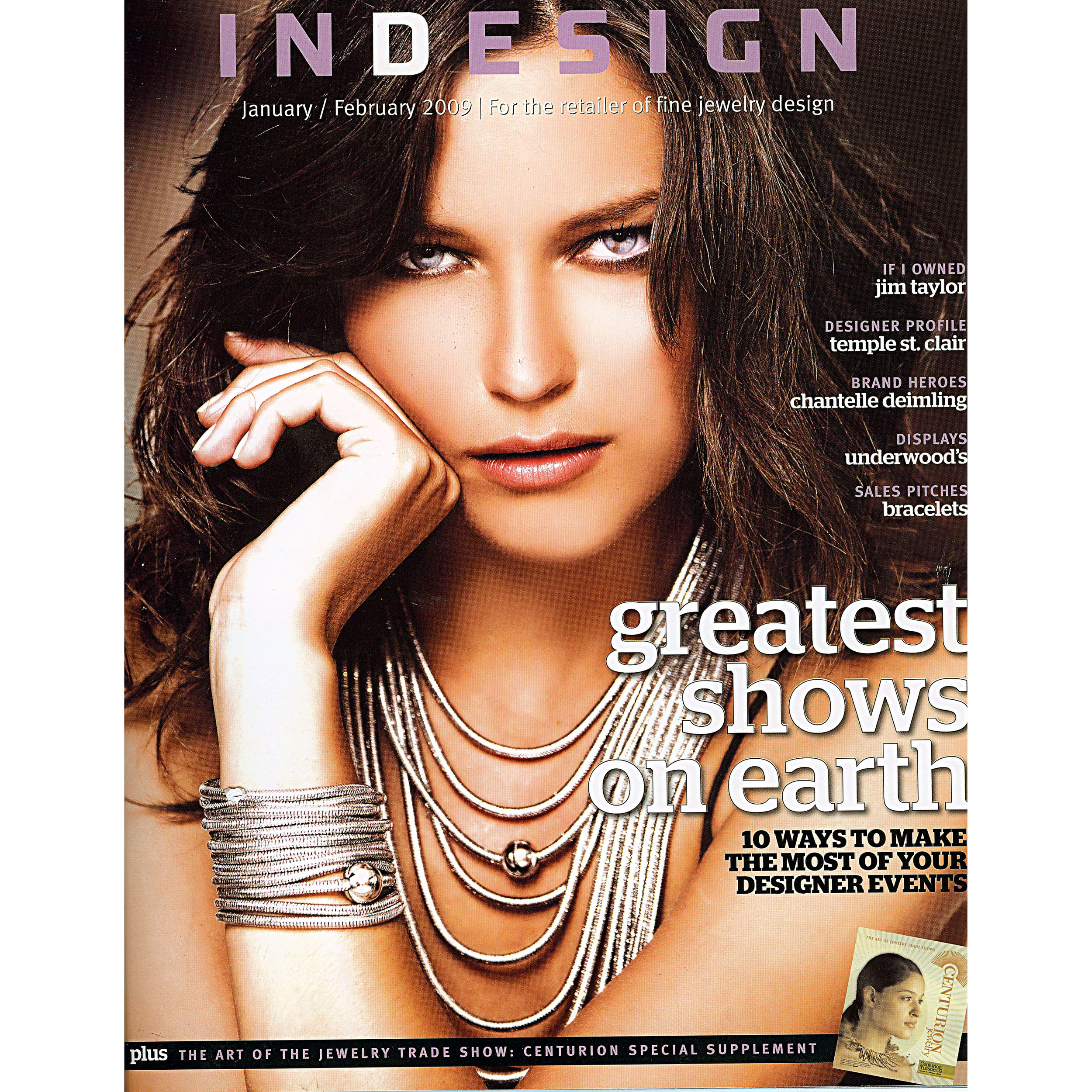 """InDesign, """"The Tomboy"""". January 2009"""