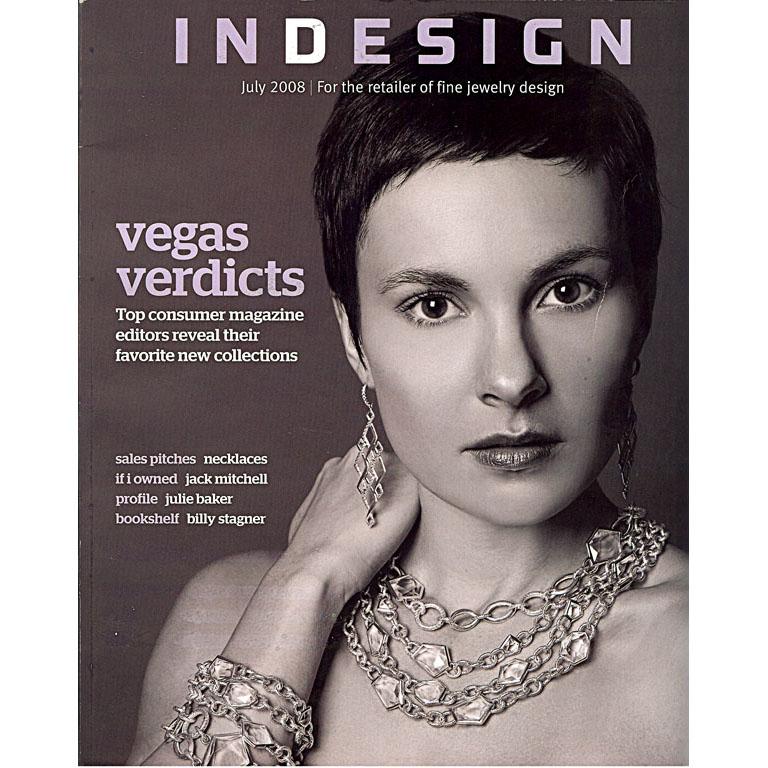 INDESIGN magazine - July 2008