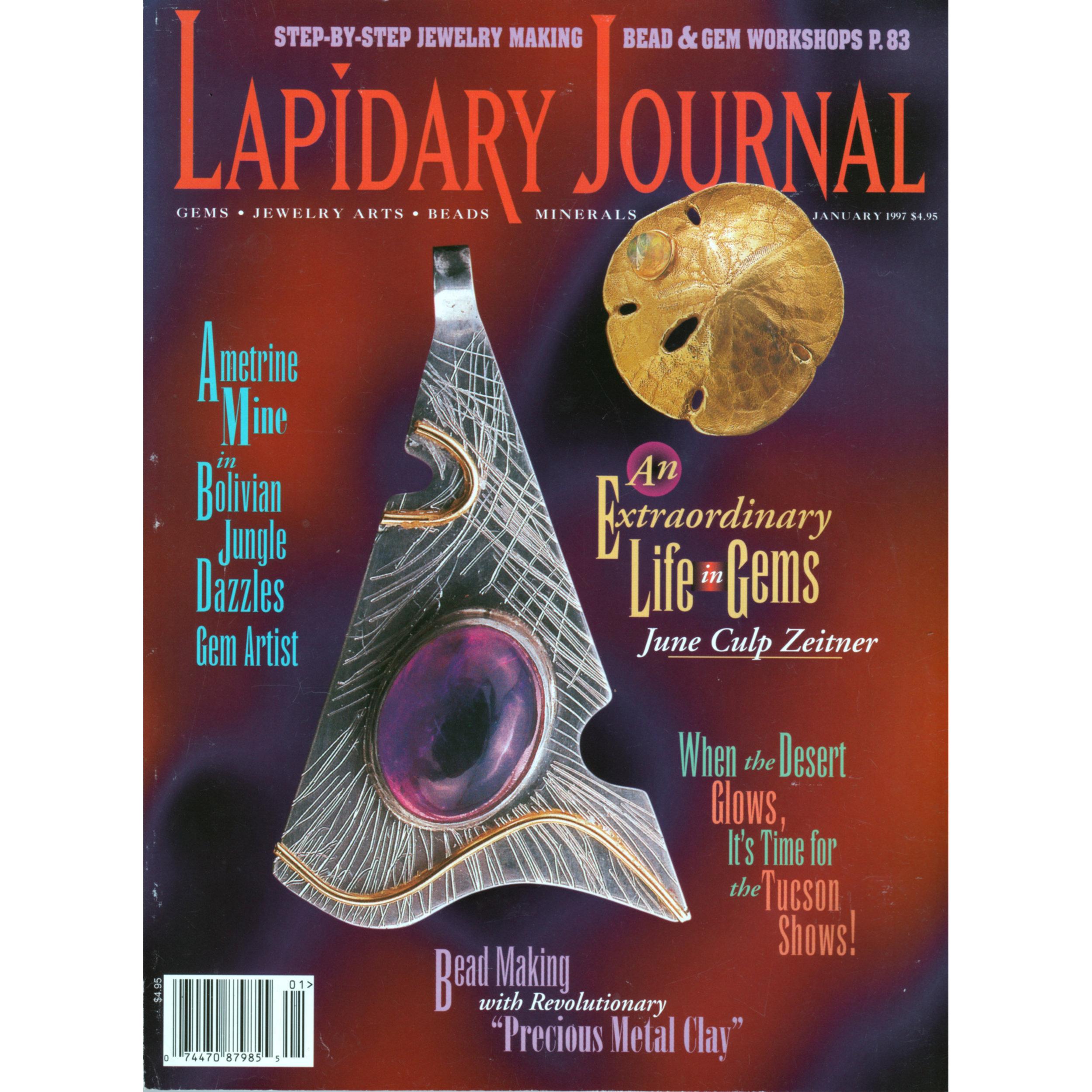 Lapidary Journal - January 1997