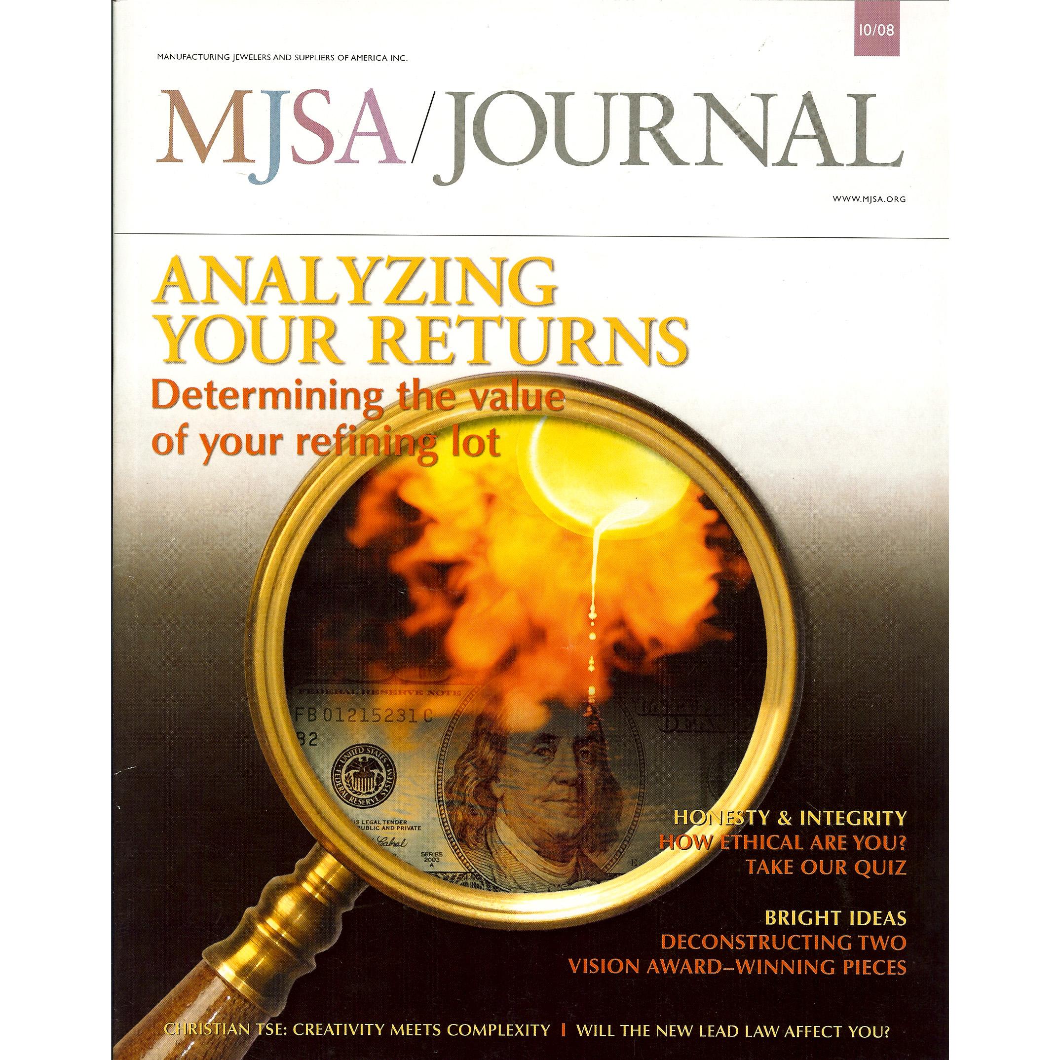 MJSA Journal - October 2008