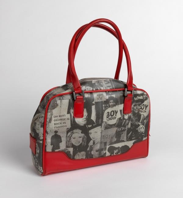 Boy George handbag. Circa 1985