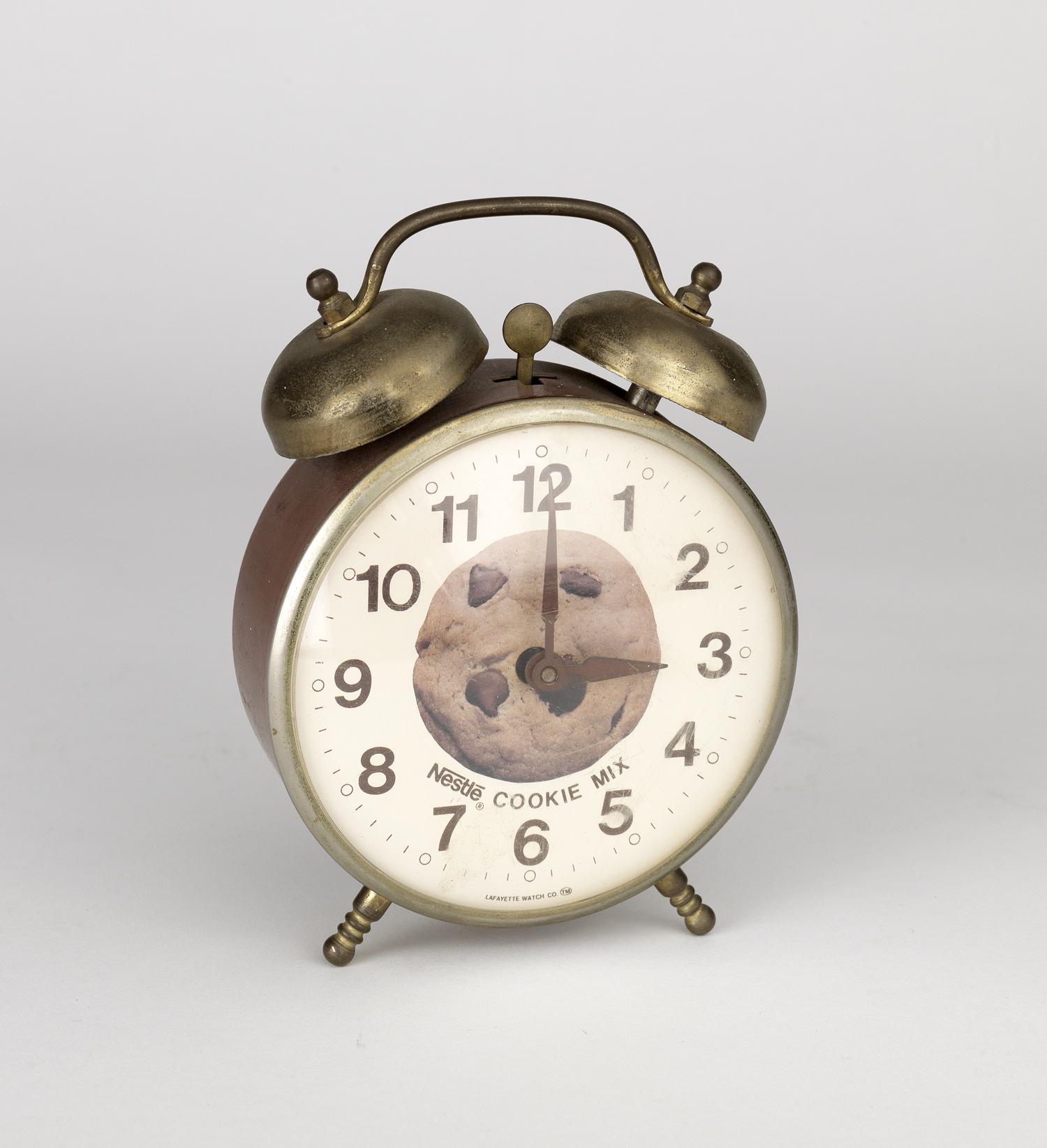 Nestle's alarm clock. 1960s