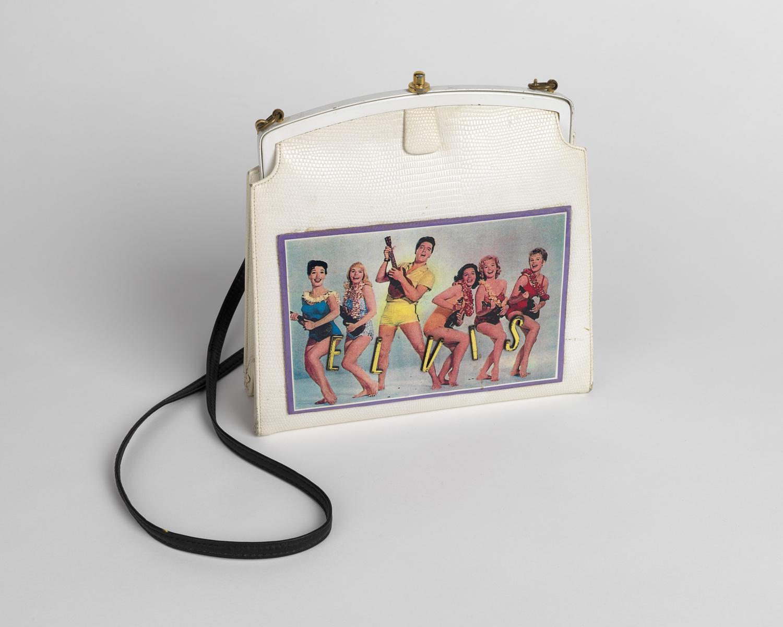 Elvis Presley handbag. Circa 1963
