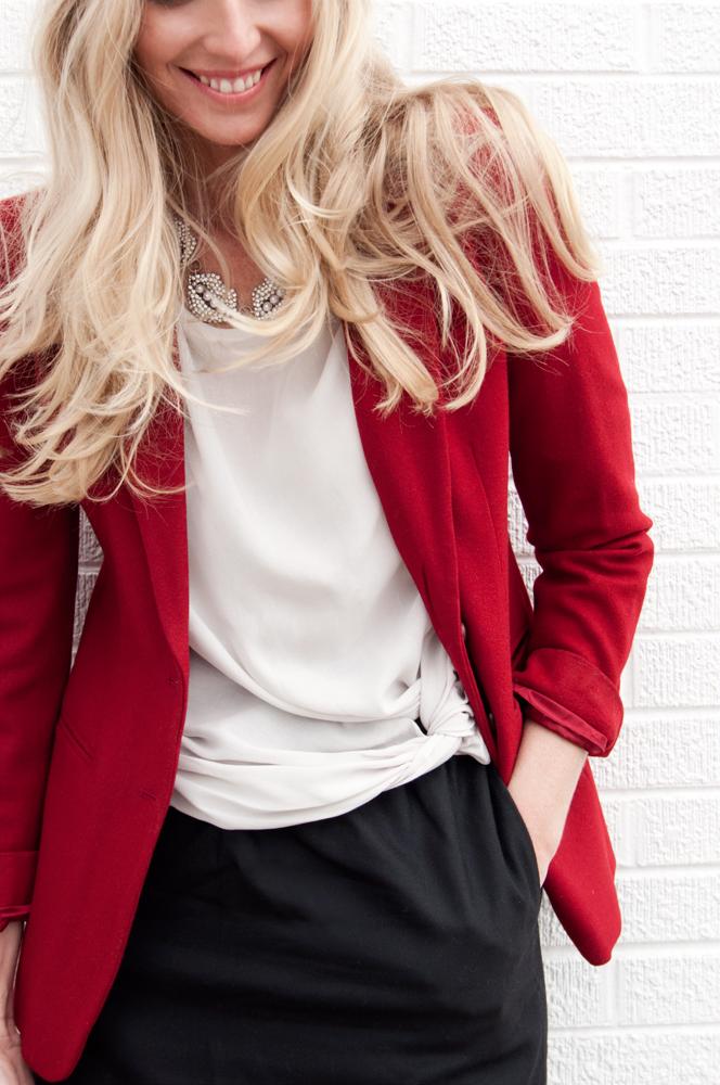 Zara Knot Blouse 2