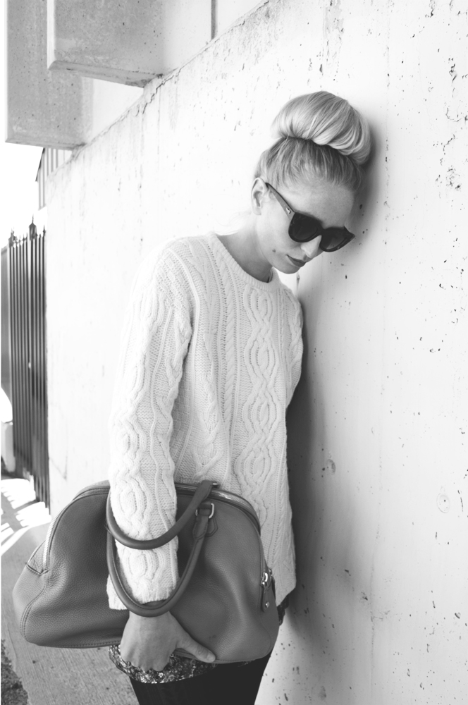 Cable Knit Sweater 2