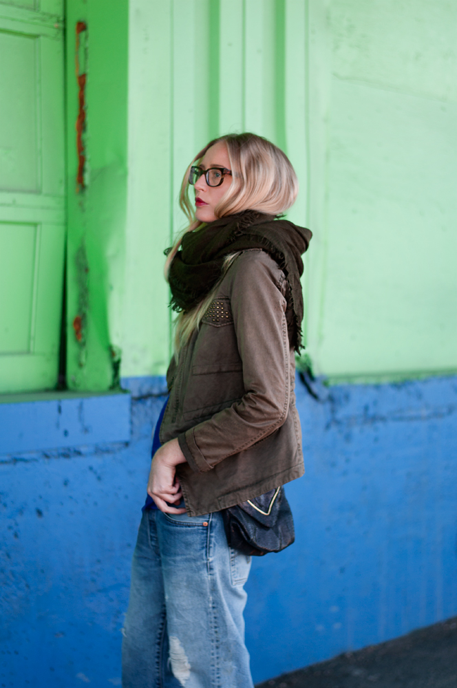 Zara Fatigue Jacket