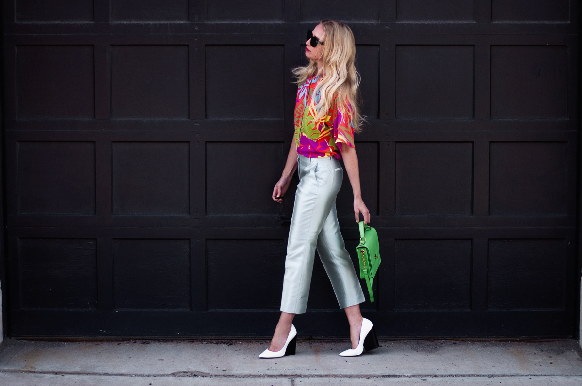 Zara White Leather Wedge Court Shoe