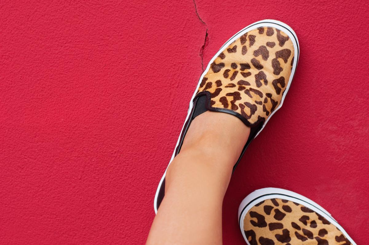 DV by Dolce Vita 'Samari', Leopard & Leather Sneaker