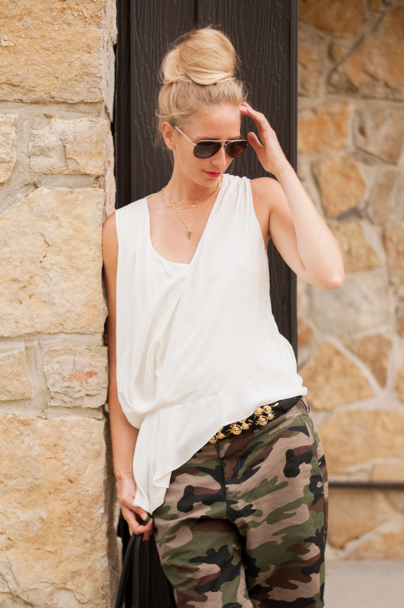 Gap Lived-In Camo Shorts