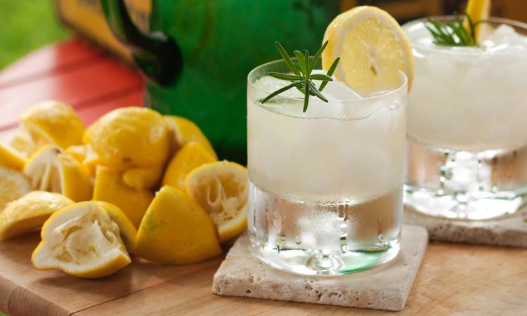 Rosemary Infused Lemonade