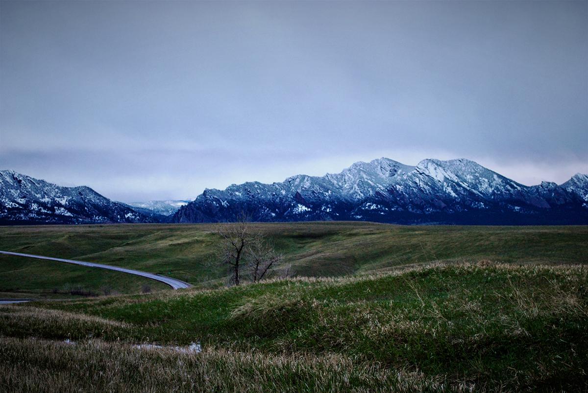 Heather Wyancko Photography, Flatirons on the Front Range of Colorado