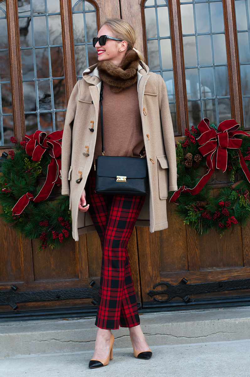 Gap Tailored Crop Wool Pants