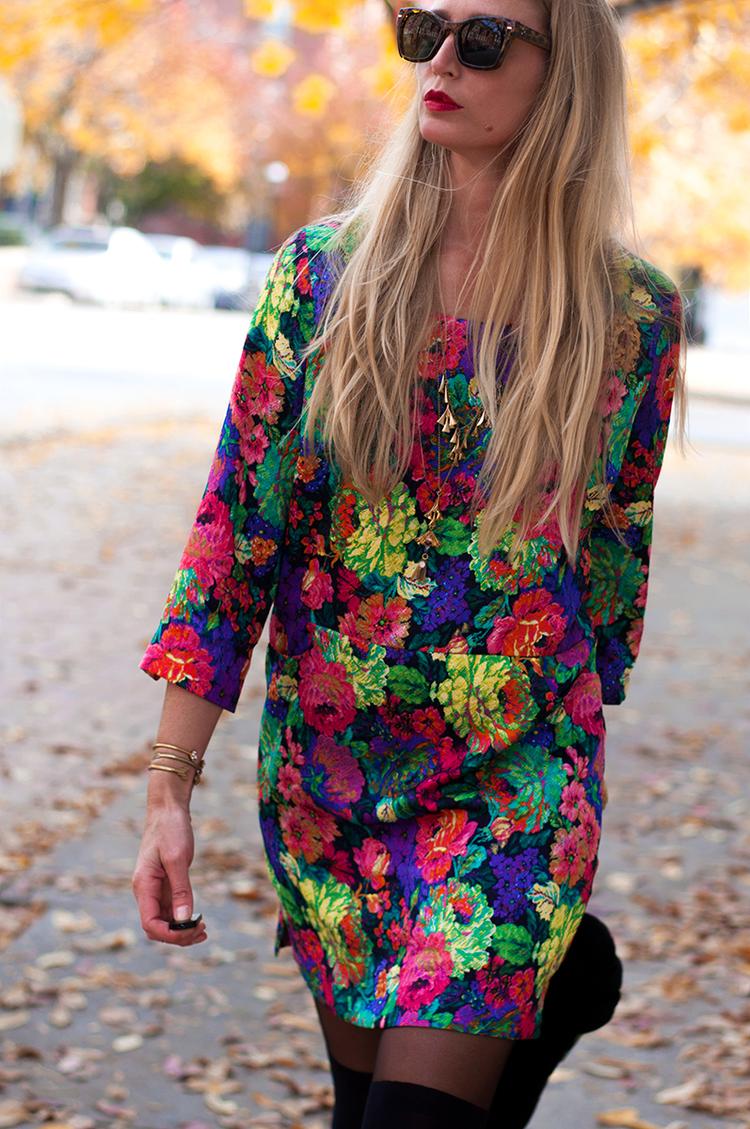 Anthropologie 'Tropicalist Shift Dress'