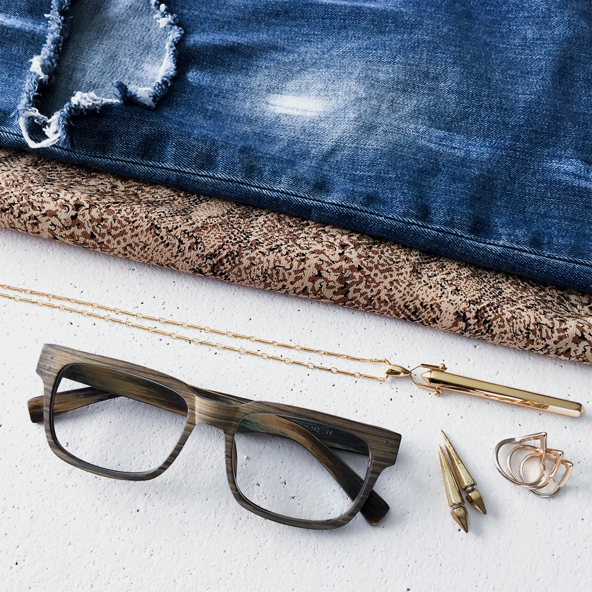 Firmoo Wooden Frame Glasses